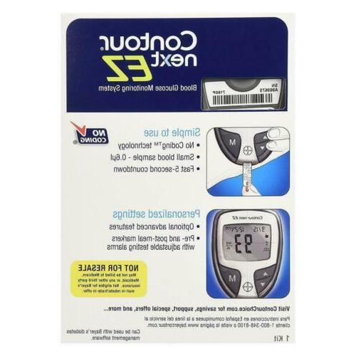 Bayer Blood Glucose Monitoring 5-Second Model CHOP