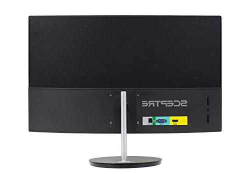 """Sceptre Curved 75Hz LED Monitor Full HD 1080P 24"""" Metal"""