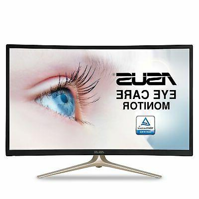 curved va327h hdmi vga eye