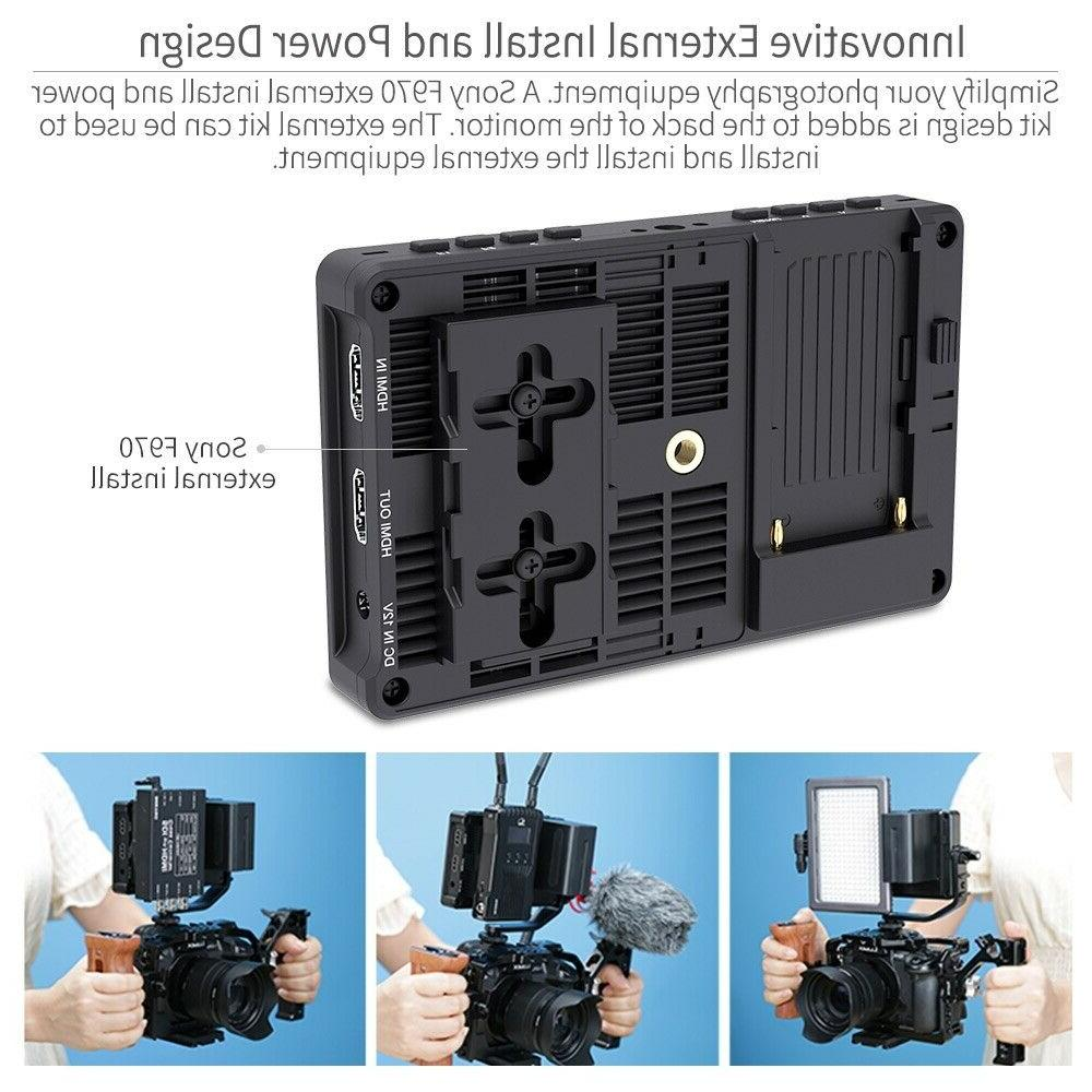 FEELWORLD F5 Pro 5.5 inch Touch Camera