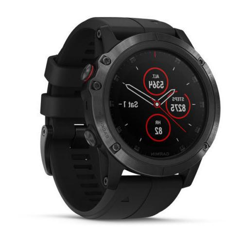 Garmin Fenix Plus GPS HEART RATE Monitor maps