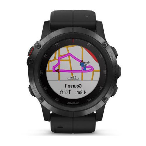 Garmin Fenix 5x GPS HEART maps
