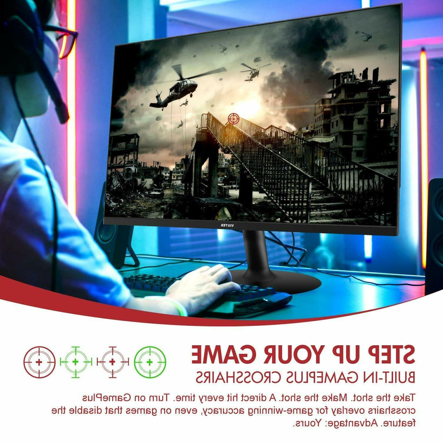 VIOTEK GFV24C 24inch Ultra-Thin 144Hz FreeSync