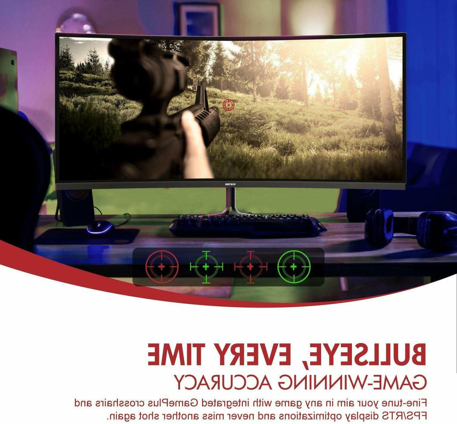"VIOTEK 34"" Curved 100Hz"