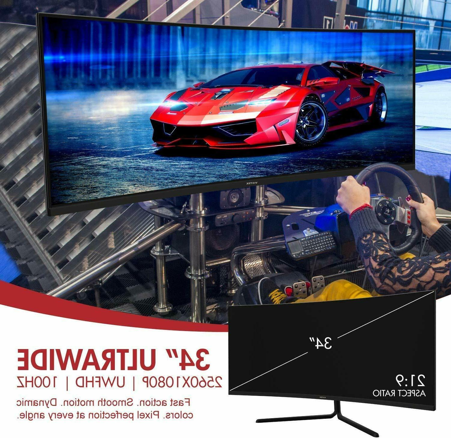 VIOTEK Curved Gaming 1080P 100Hz