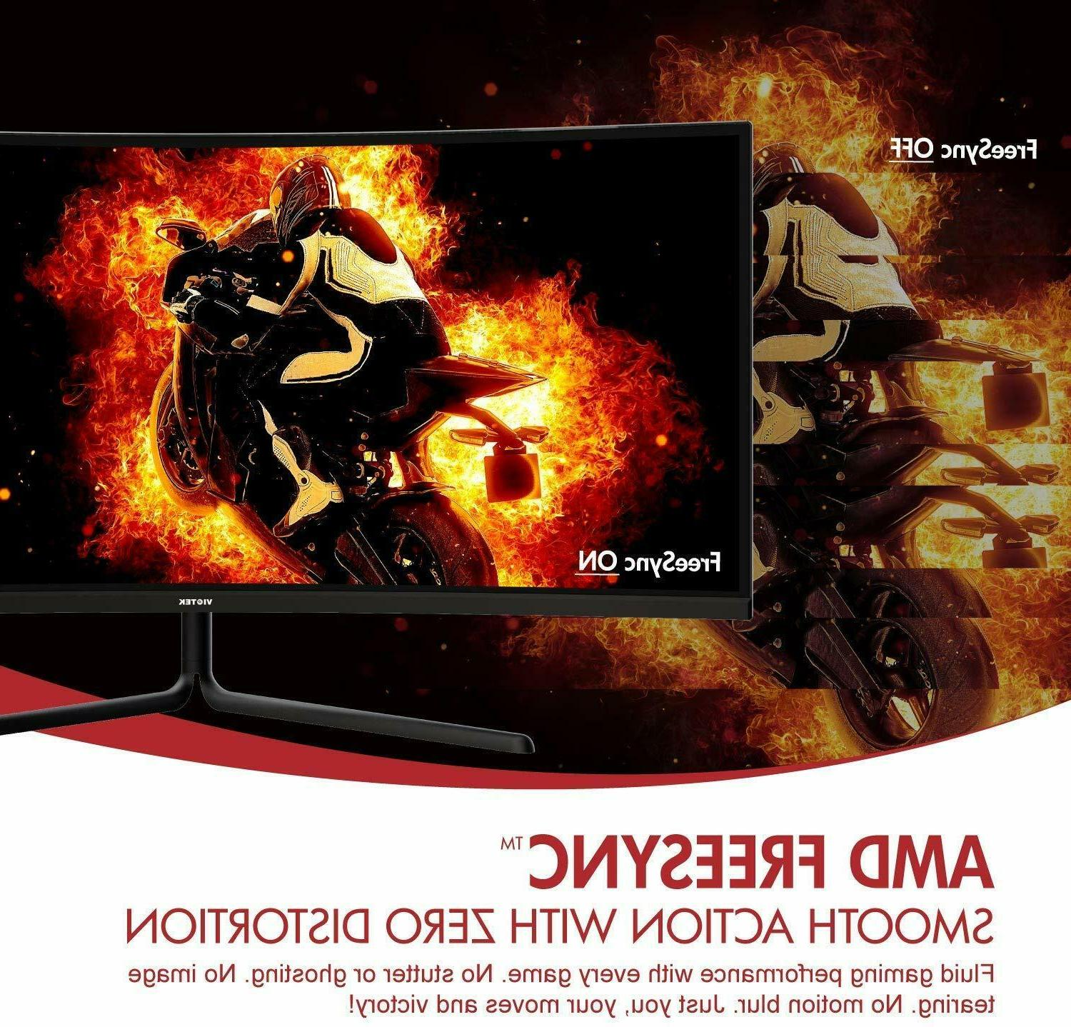 "VIOTEK 34"" Curved Gaming 100Hz"