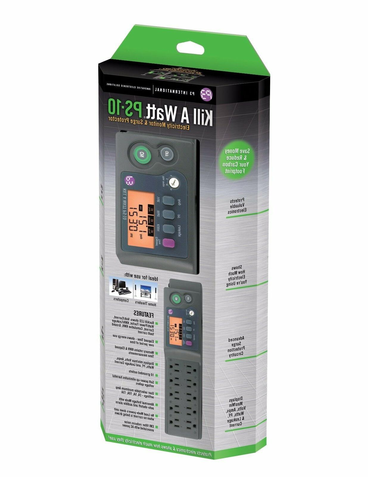 Kill Electricity Monitoring Power Strip