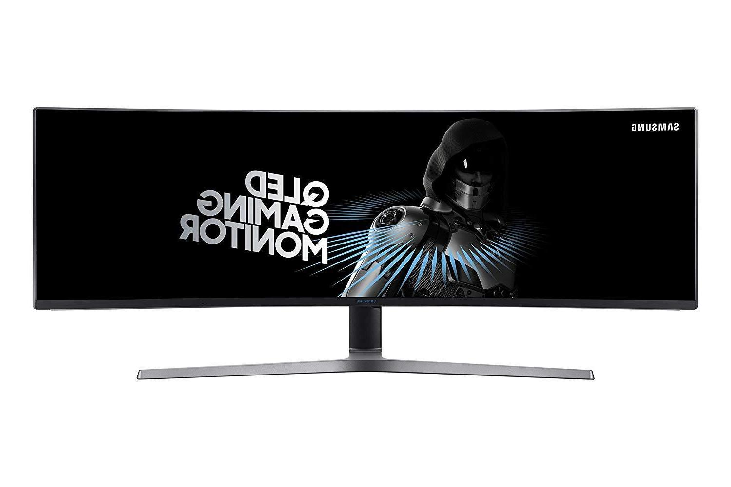 Samsung LC49HG90 Curved QLED Gaming Computer Monitor - NEW -