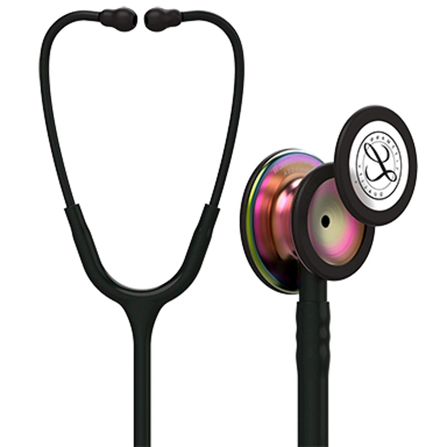 littmann classic iii monitoring stethoscope rainbow finish