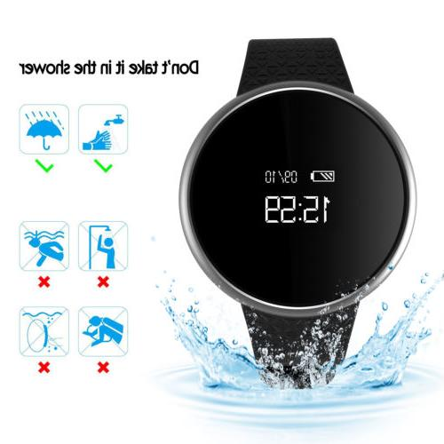 Men's Watch Wristband Blood Pressure&Heart Rate
