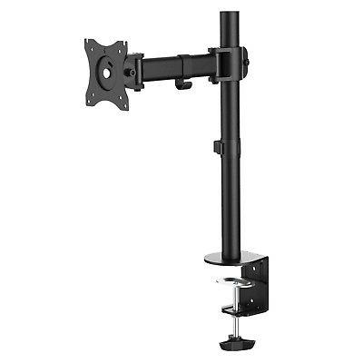 Full Motion LED LCD Monitor Desk Mount Clamp Stand 17 19 20