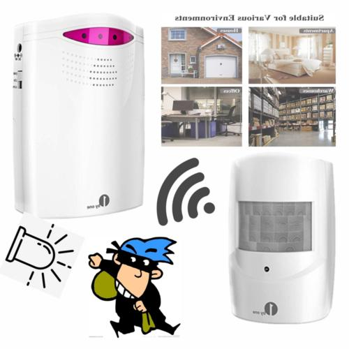 1Byone Motion Sensor System Wireless Home Security Driveway Monitor Alarm