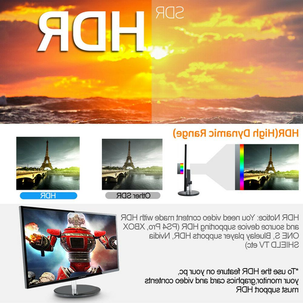 "New NEWSYNC HDR 27"" LED 3840x2160 AH-IPS Panel DP Gaming"