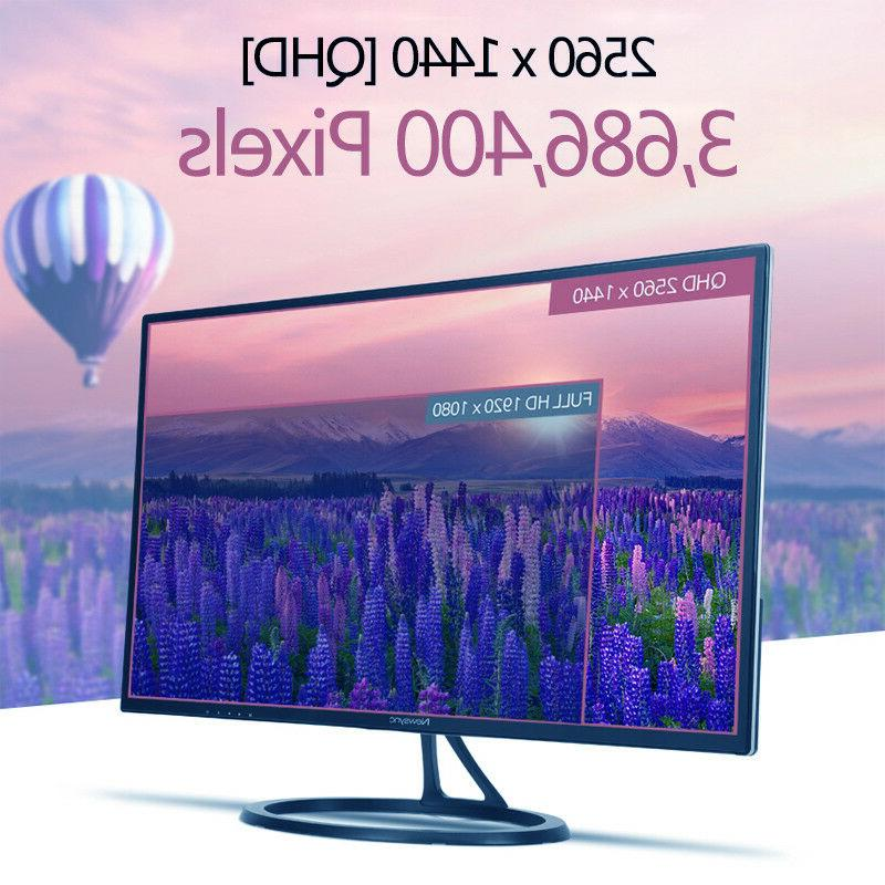 US Stock* B2775QHD LED 2560x1440 HDMI Monitor