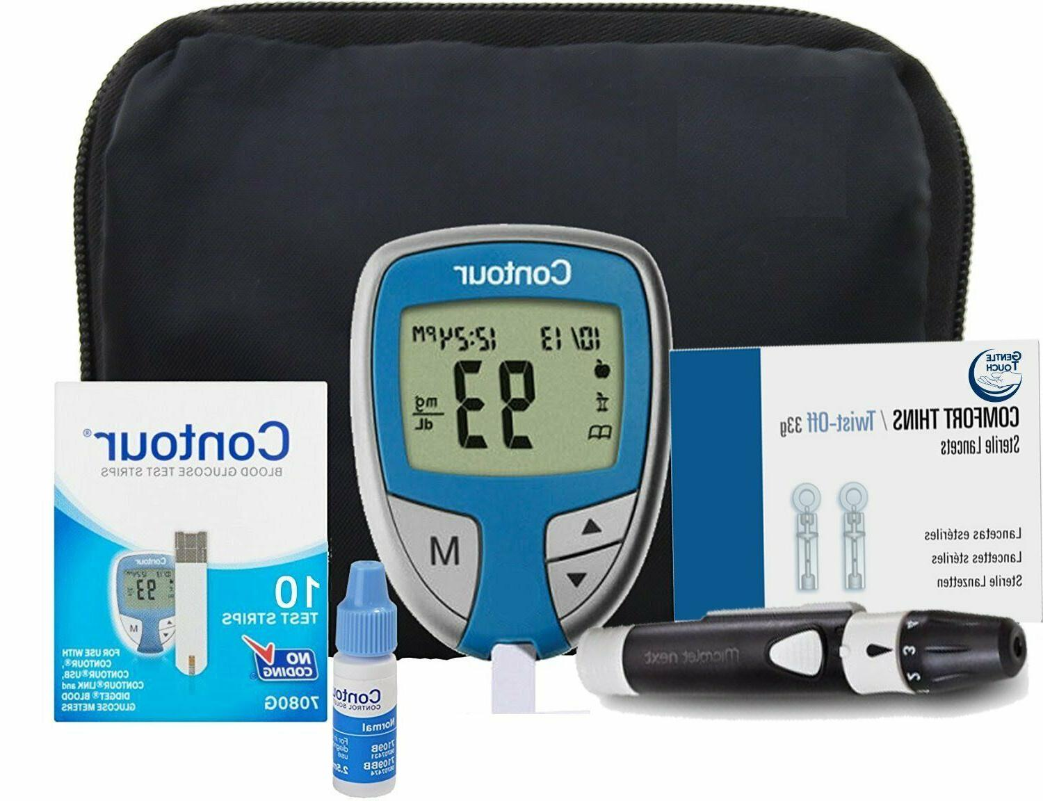 new bayer contour blood glucose monitoring full