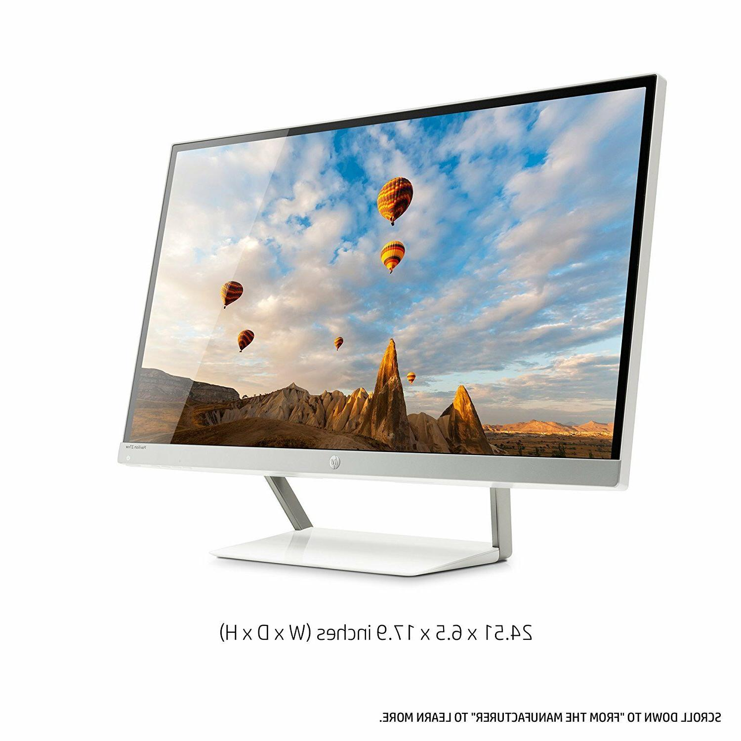 "NEW HP Pavilion 27"" IPS HDMI HD Widescreen Monitor"