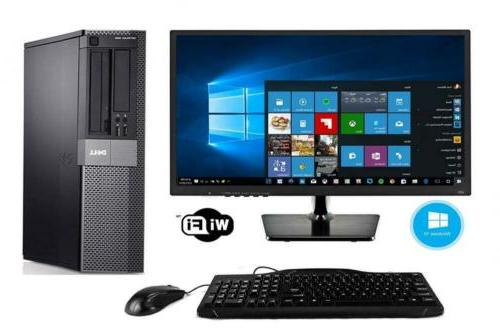 Dell Optiplex 980 Desktop PC with New 32 inch LED Monitor -