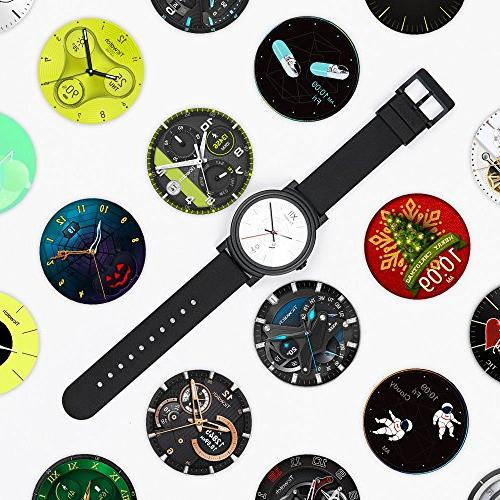 Ticwatch Smartwatch-Knight,1.4 inch OLED Display, Android 2.0,Compatible iOS and Android, Google