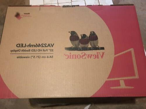 ViewSonic VA2446m-LED LED LCD Monitor