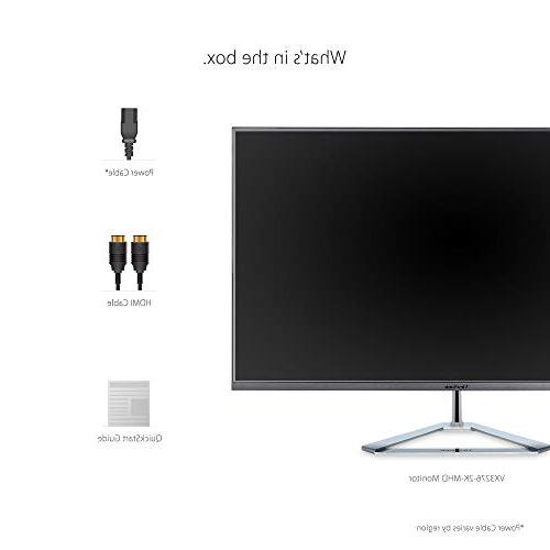 ViewSonic VX3276-2K-MHD Frameless IPS Monitor with
