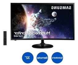 """Samsung LC32F39MFUNXZA 32"""" FHD Curved Multimedia Monitor wit"""