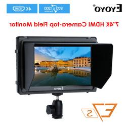 Eyoyo 7'' IPS E7S 1920x1200 4K HDMI DSLR Camera Field Monito