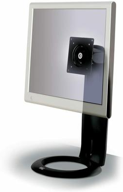 3M MS110MB Easy-Adjust LCD Monitor Stand  Black