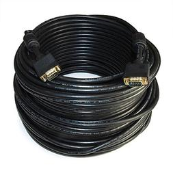 MyCableMart 200ft Premium VGA Male/Male Triple-Shielded Cabl