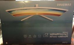 New Samsung 32-inch Curved Monitor Ultra-Slim LED Monitor -
