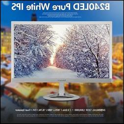 "Bitm - Newsync B240 LED Pure White 24"" IPS / WIDE 16:9 / 192"