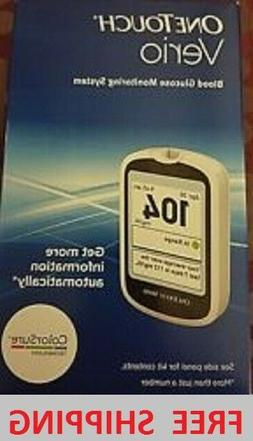 NIB! DIABETES ONETOUCH VERIO BLOOD GLUCOSE MONITORING SYSTEM