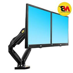 North Bayou Dual Monitor Desk Mount Stand Full Motion Swivel