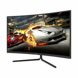 "Viotek NV32Q True 4K Monitor 32"" Curved 3840x2160p Streaming"