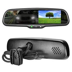 """Master Tailgaters OEM Rear View Mirror with 4.3"""" Auto Adjust"""
