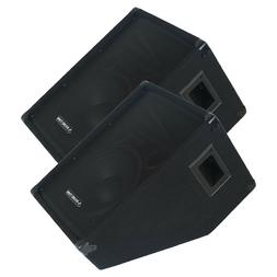 """Sound Town PA 2-Pack 10"""" Passive Stage Floor Monitor Speaker"""