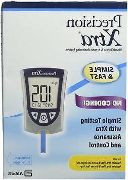 Precision Xtra NFR Blood Glucose and Ketone Monitoring Syste