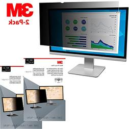 "3M 2-Pack Privacy Filter for 24"" Widescreen Monitor"
