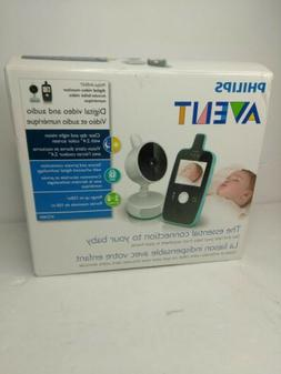 Philips AVENT SCD600 Digital Video Camera w Baby Monitor - S
