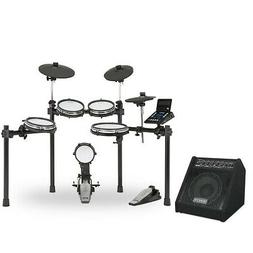 Simmons SD600 Electronic Drum Set with Mesh Heads, Bluetooth