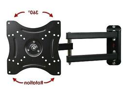 "Single Articulating Arm/Tilt/Swivel Wall Mount for 13"" - 30"""