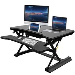 Riser Desk Standing Desk With Drawer Ansteker
