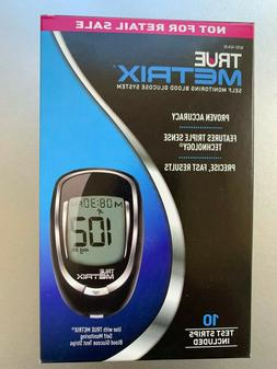 true metrix blood glucose meter plus strips