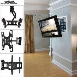 UNHO Universal TILT SWIVEL ARTICULATING CORNER TV WALL MOUNT