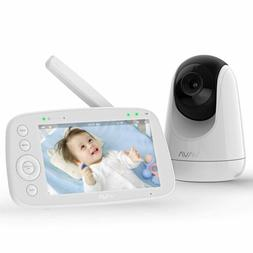 "VAVA VA-IH006 720P 5"" HD Baby Monitor with Camera and Audio"