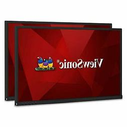 ViewSonic VG2448_H2 24 Inch Dual Pack Head-Only IPS 1080p Mo