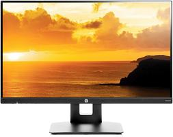 HP VH240a 23in 1920x1080 Monitor with Built-in Speakers - Bl