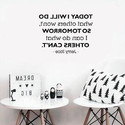 Wall Sticker Removable Home Decor Wall Vinyl Decals Today I