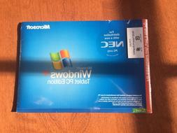 Windows Tablet PC Edition Software - for NEC PC